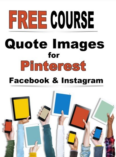 create amazing quote pictures for Pinterest Instagram Facebook